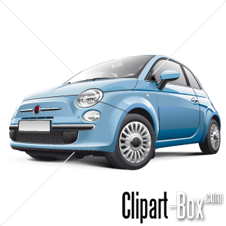 CLIPART FIAT 500.
