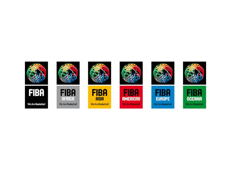 FIBA logos.