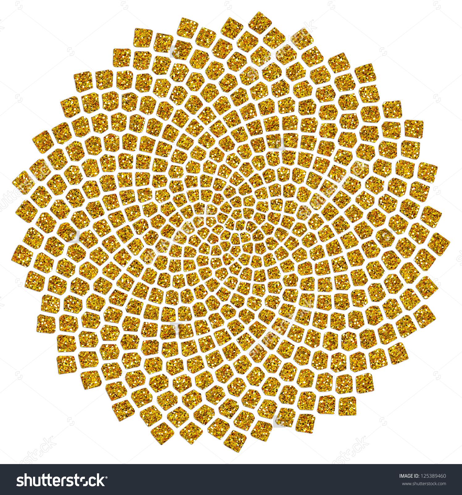 Golden Spiral Clip Art.