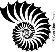Fibonacci pattern Vector Clip Art Illustrations. 77 Fibonacci.