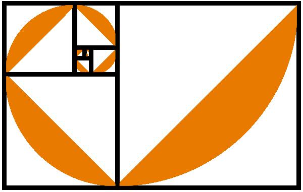 Fibonacci Sequence Examples Clip Art.