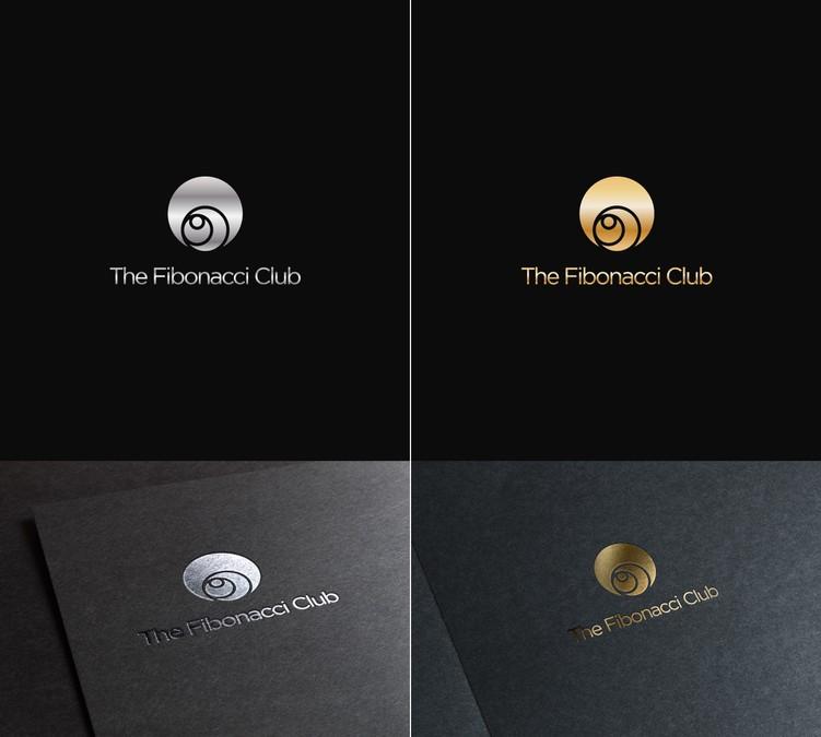A Fibonacci Spiral Logo For Private Members Club.