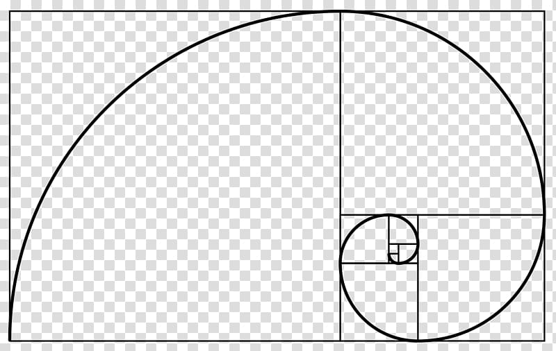 Golden spiral Golden ratio Fibonacci number Golden rectangle.