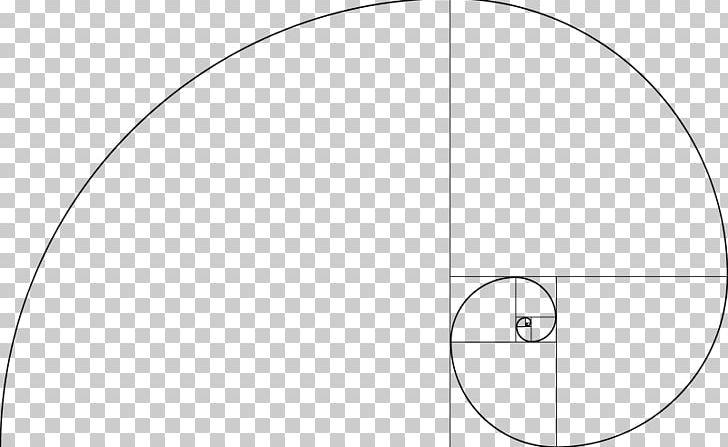 Fibonacci Number Golden Spiral Golden Ratio Mathematics PNG.