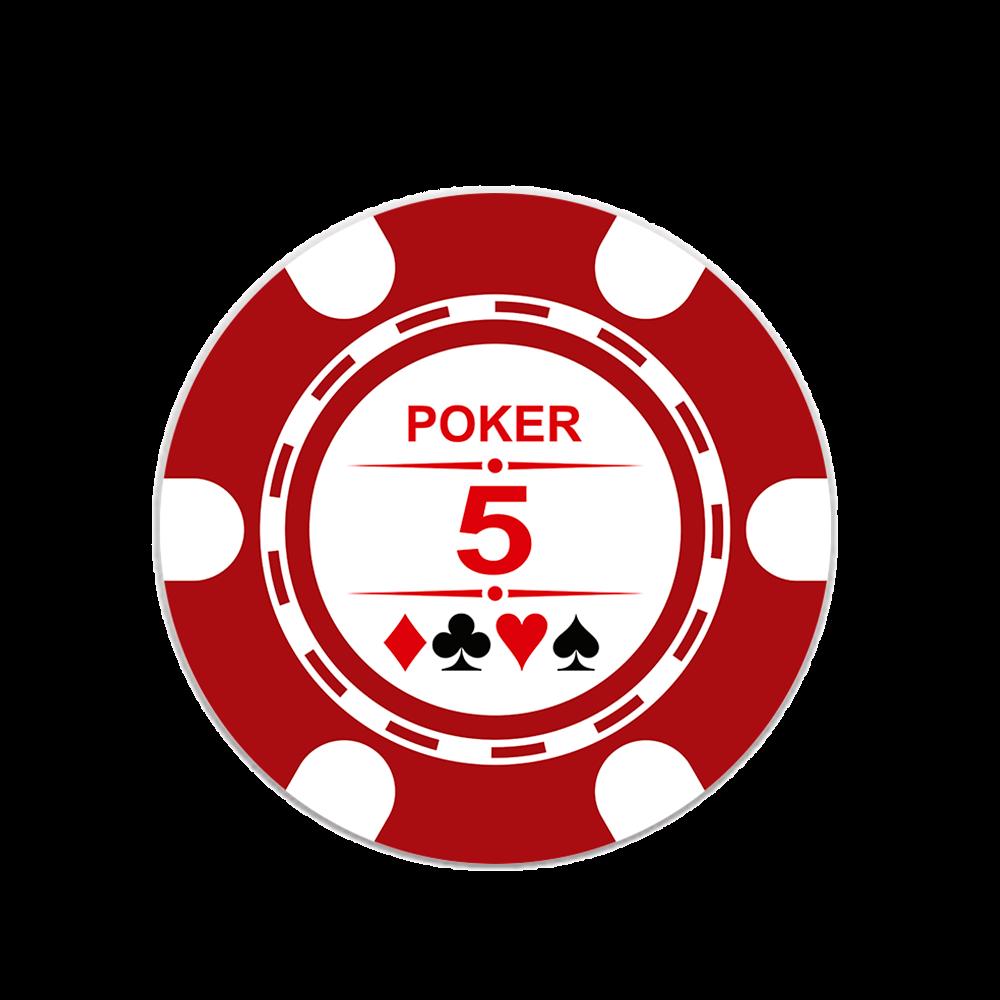 TopSocket Ficha Poker 5.