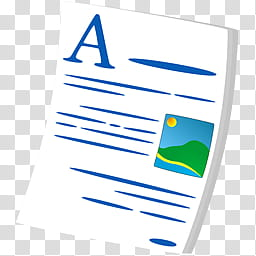 Vista Toon Pack, Fichier Document Texte icon transparent.