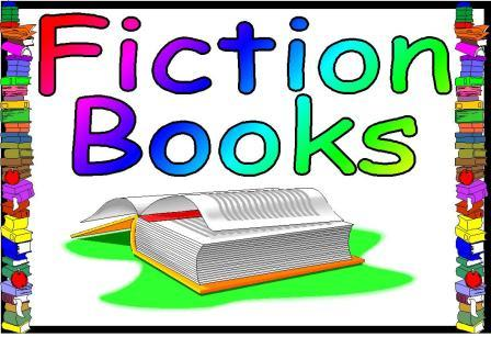 Fiction Books Clipart.