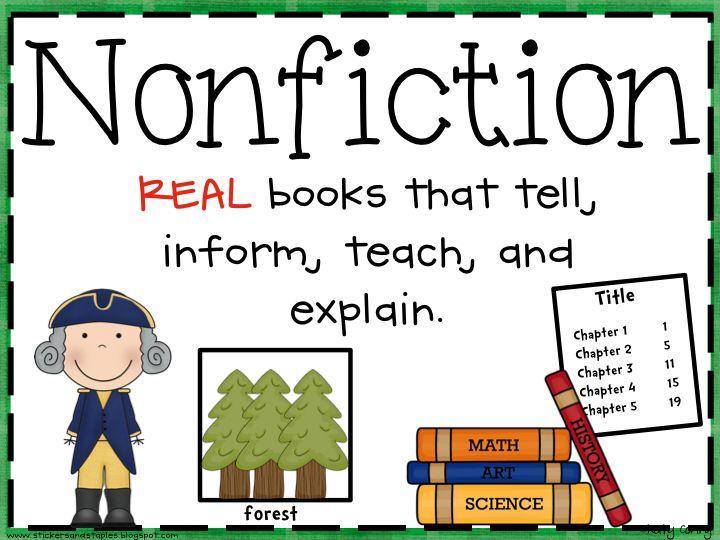 1000+ ideas about Fiction Vs Nonfiction on Pinterest.