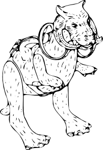 Taun Fictitious Animal Clip Art at Clker.com.