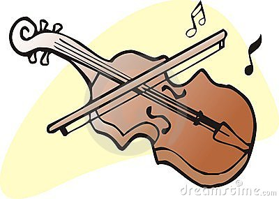 Fiddle Bow Stock Illustrations.