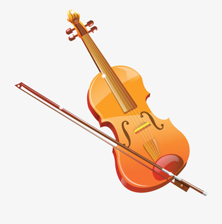 Violin Clipart Transparent Pencil And In Color Violin.