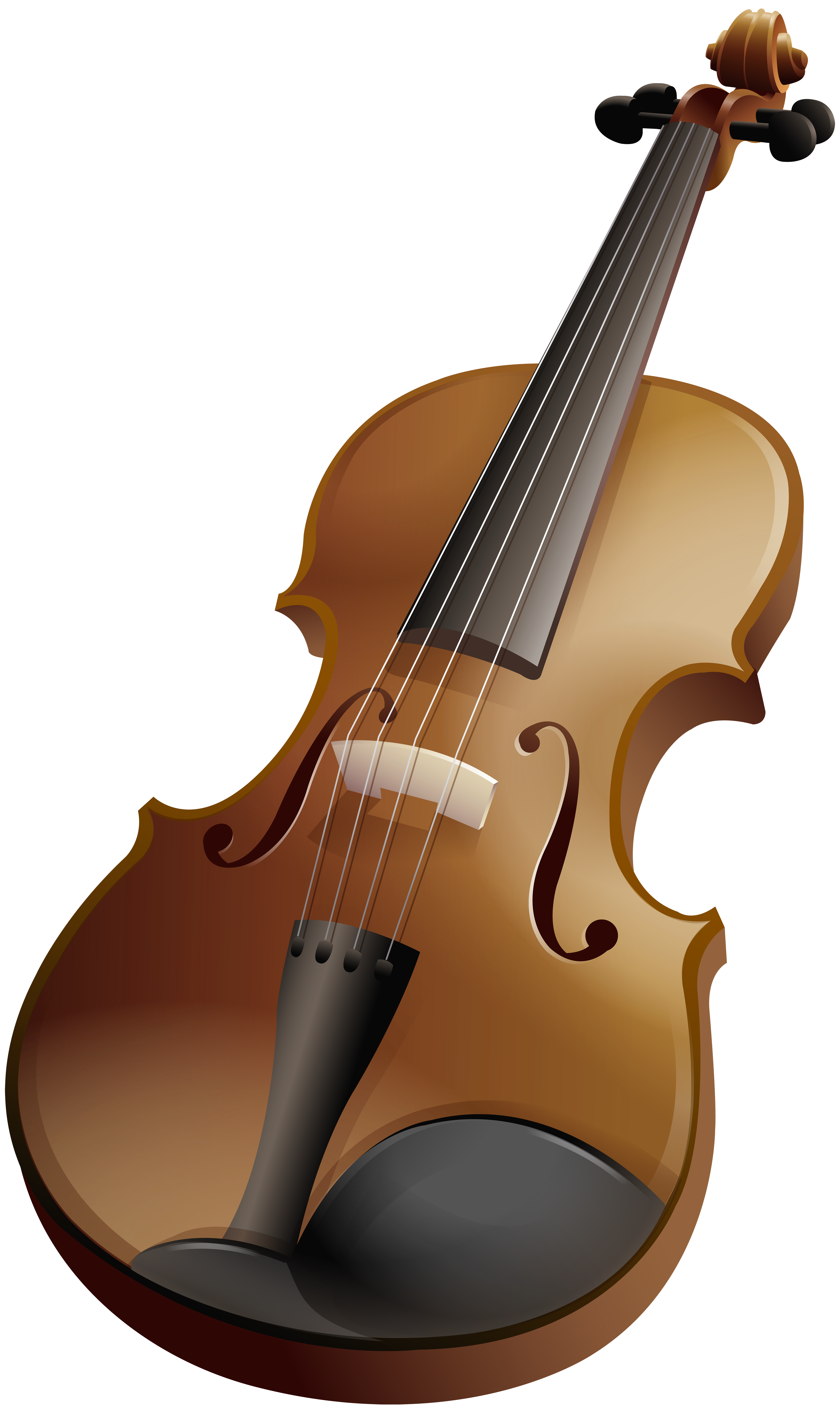 Violin PNG Clip Art Image.