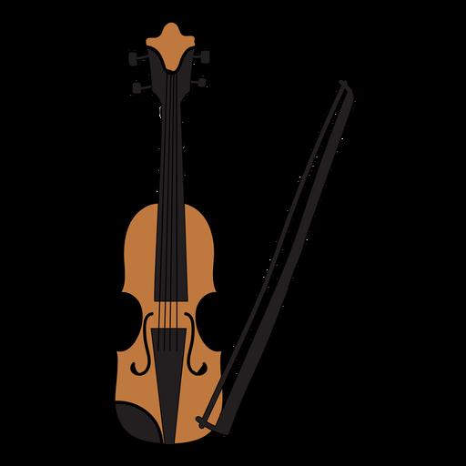 Violin musical instrument doodle.