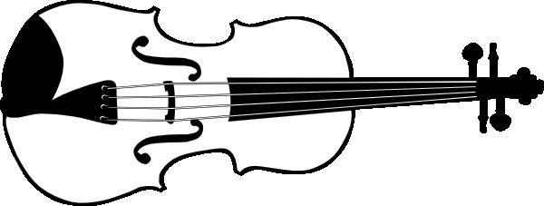 Fiddler outline clipart.