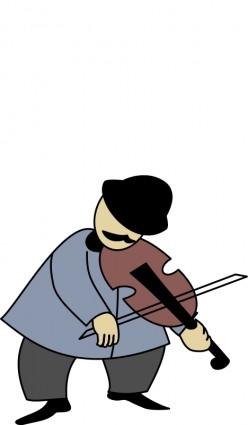 Fiddler clipart.