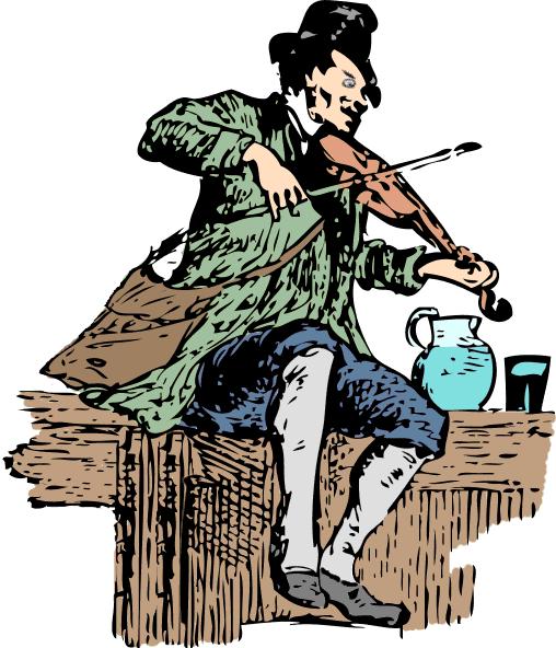 Fiddler Clip Art Download.
