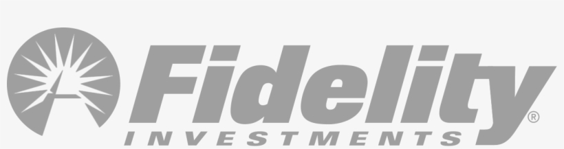 Fidelity Investments Logo White Transparent PNG.