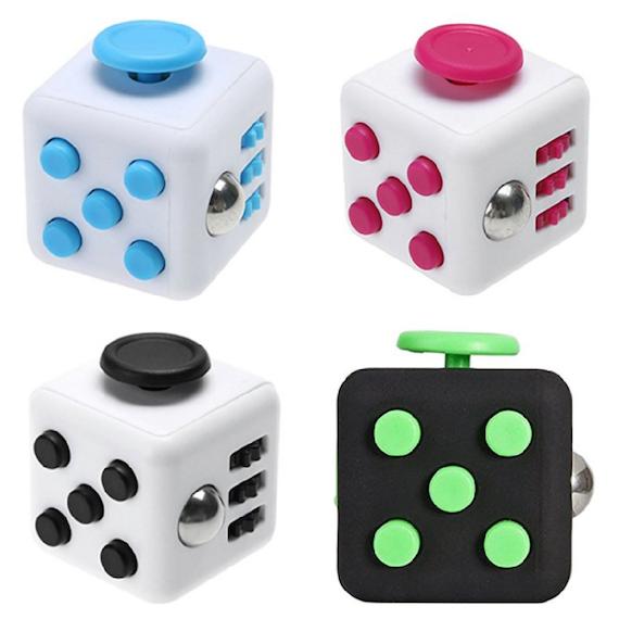 Fidget Cube Assorted Colours.