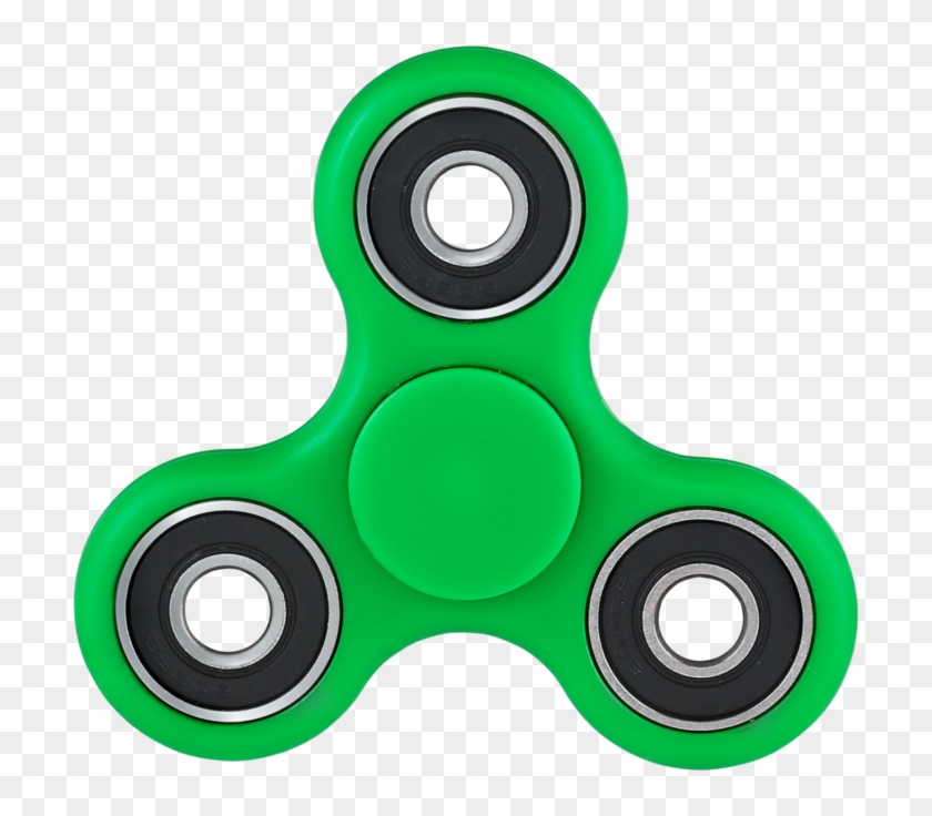 Fidget Spinners Green, HD Png Download.