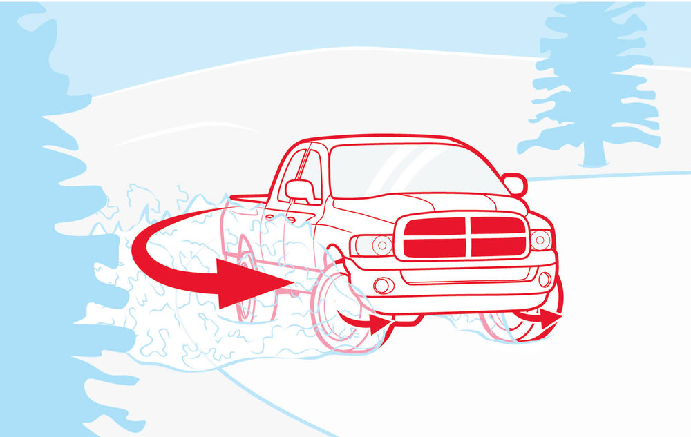 How to Stop a Truck Spinout.