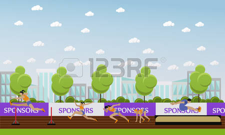 28,144 Field Competition Stock Vector Illustration And Royalty.