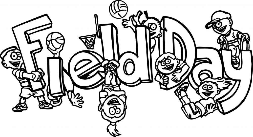 Field day clipart black and white 4 » Clipart Station.