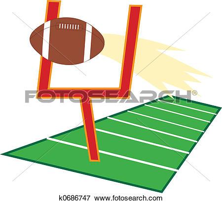 Stock Illustration of Football Field k0686747.