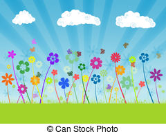 Field flowers Illustrations and Clipart. 25,769 Field flowers.