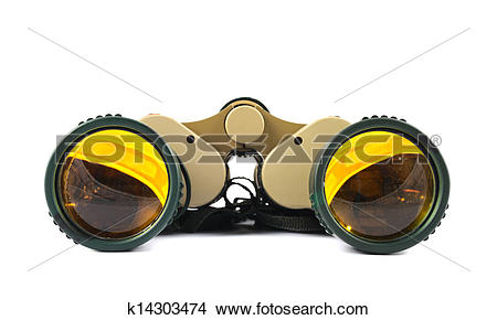 Stock Photo of Binocular field glasses isolated k14303474.
