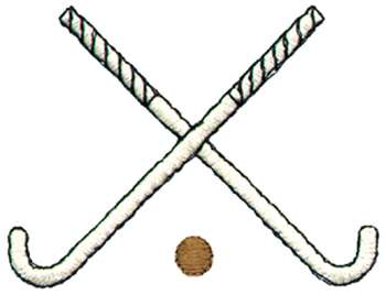 Field hockey stick clipart.