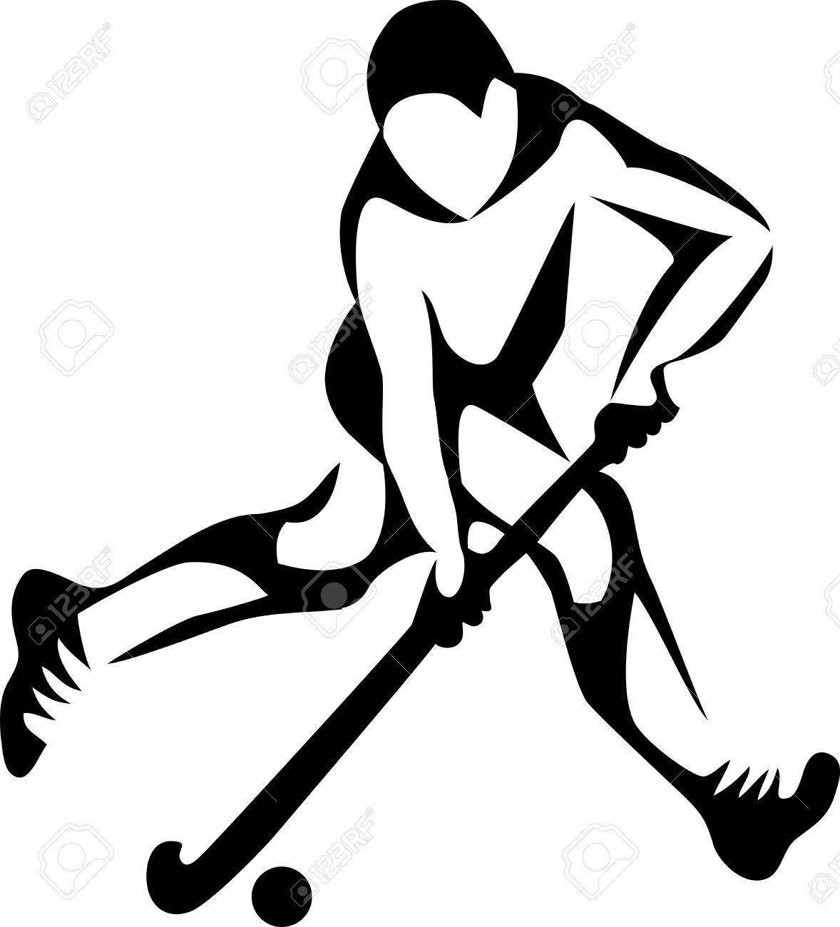 field hockey player.