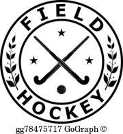 Field Hockey Clip Art.