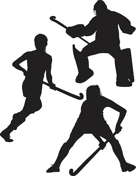 Best Field Hockey Illustrations, Royalty.