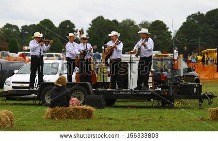 Bluegrass Band Stock Photos, Royalty.