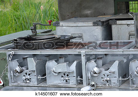 Picture of Cooking stove of army field kitchen k14501607.