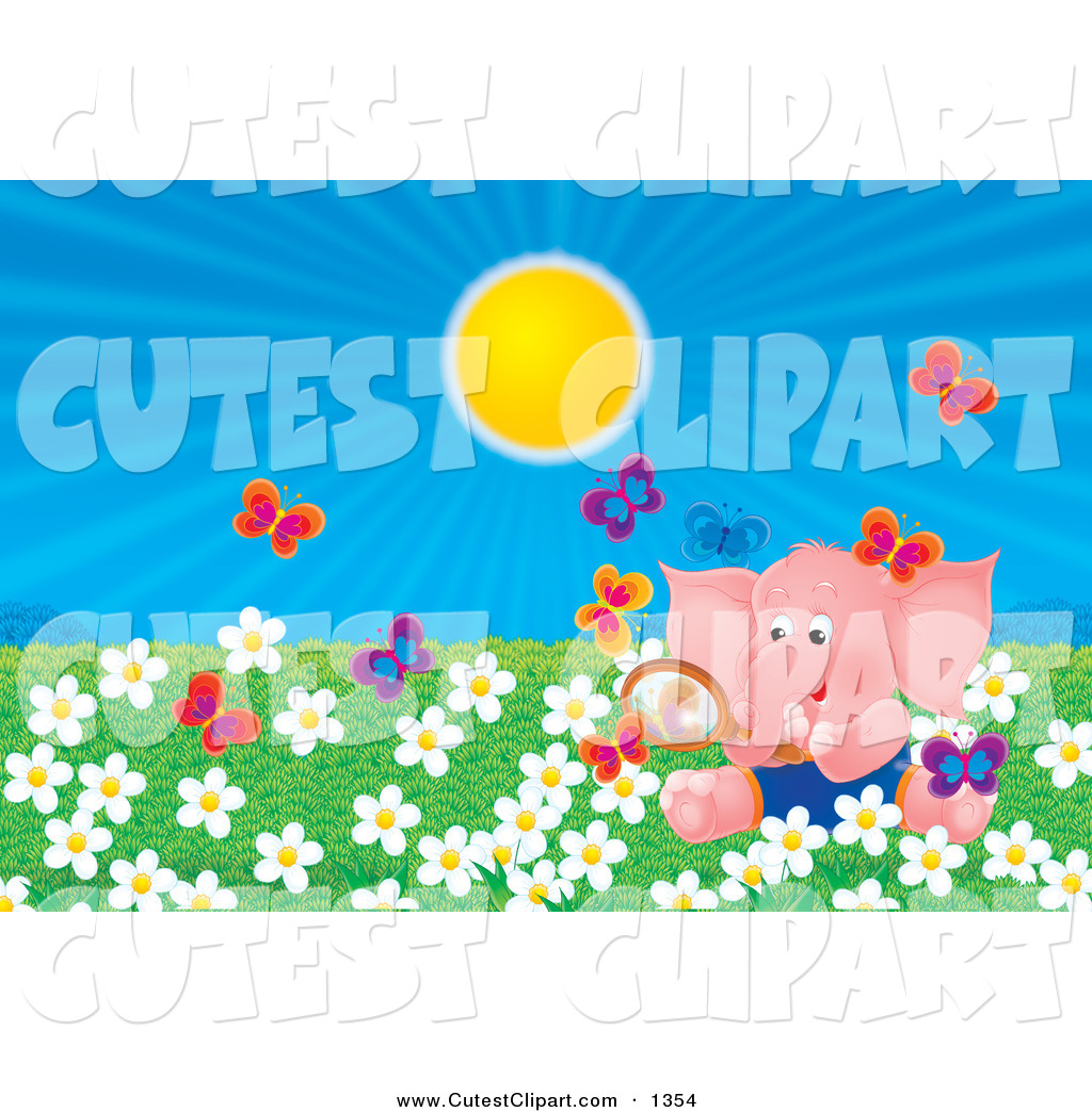 Royalty Free Stock Cute Designs of Flowers.