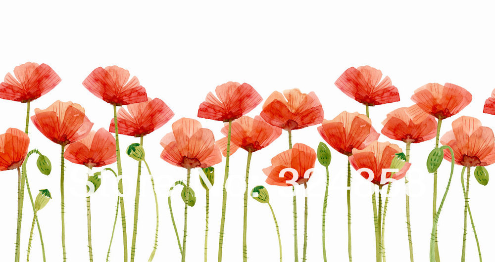 Clip Art Orange Poppies Clipart.