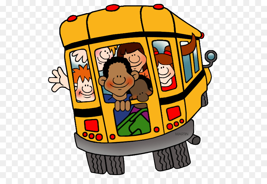 School Bus Cartoon png download.