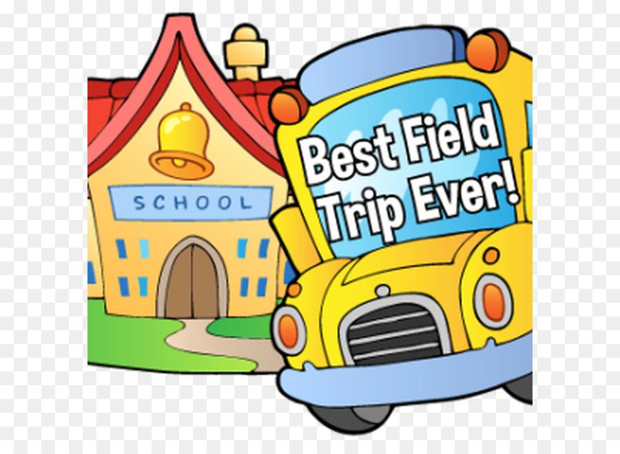 Cartoon School Bus clipart.
