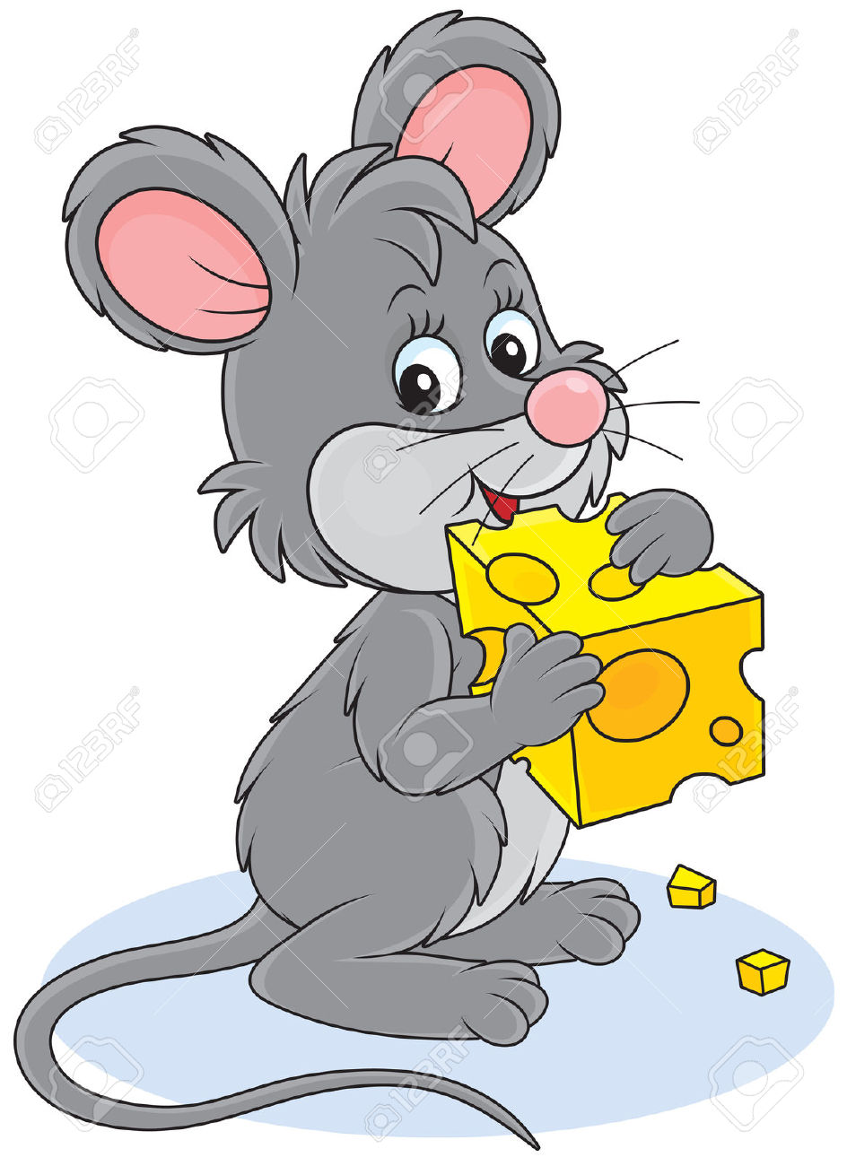 Mouse And Cheese Royalty Free Cliparts, Vectors, And Stock.
