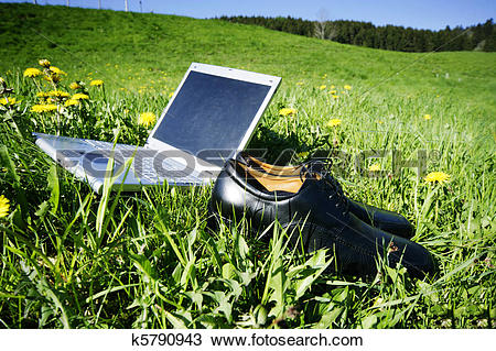 Stock Photo of Fieldwork k5790943.