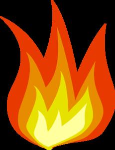transparent fire clipart #20