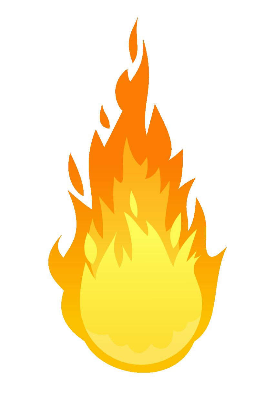 Fire clipart #8