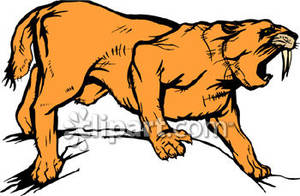 and Roaring Saber Tooth Tiger.