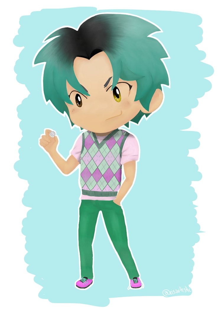 Alex Fierro by risartistic on DeviantArt.