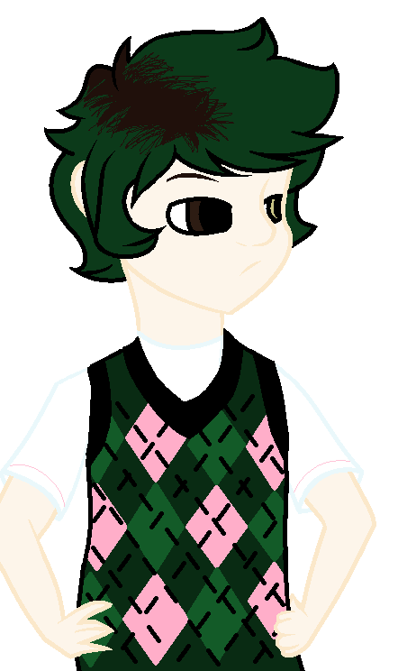 Alex Fierro (fan art) by ShmityTheShmoo on DeviantArt.