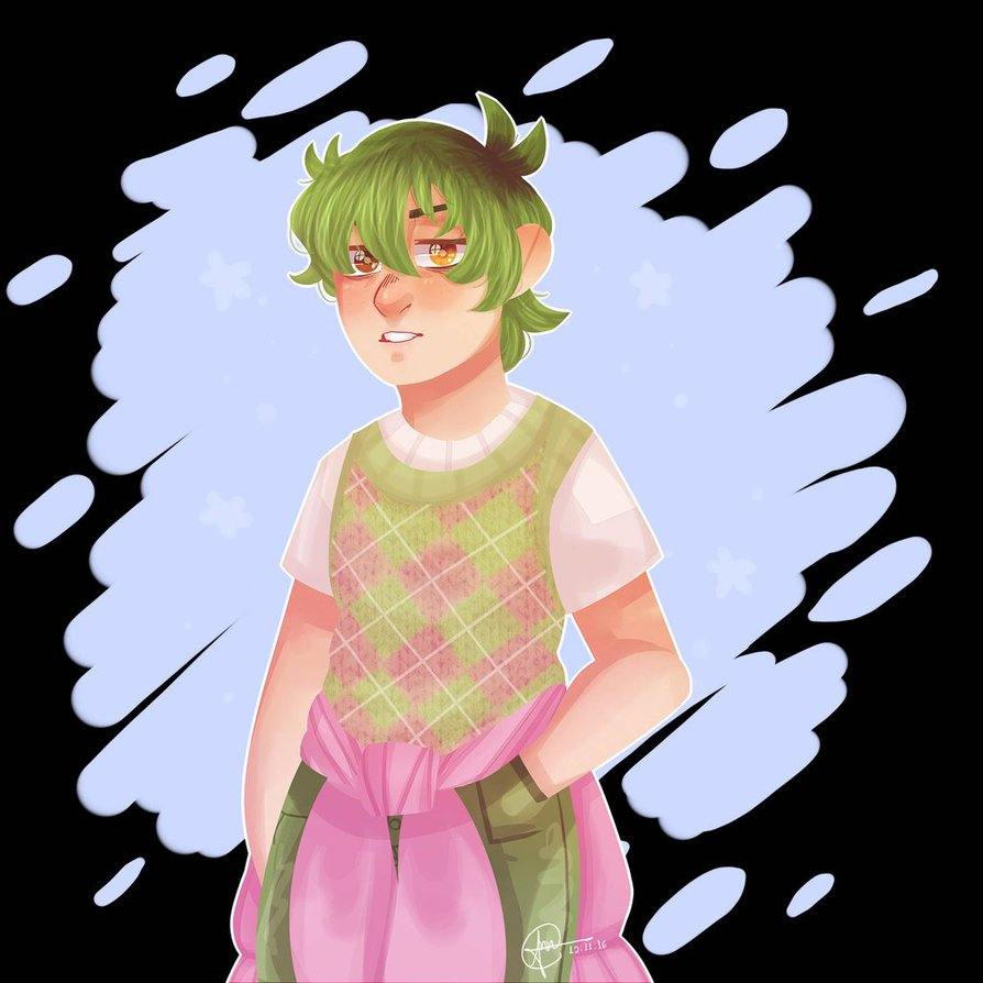 Alex Fierro by AnnaValiore on DeviantArt.