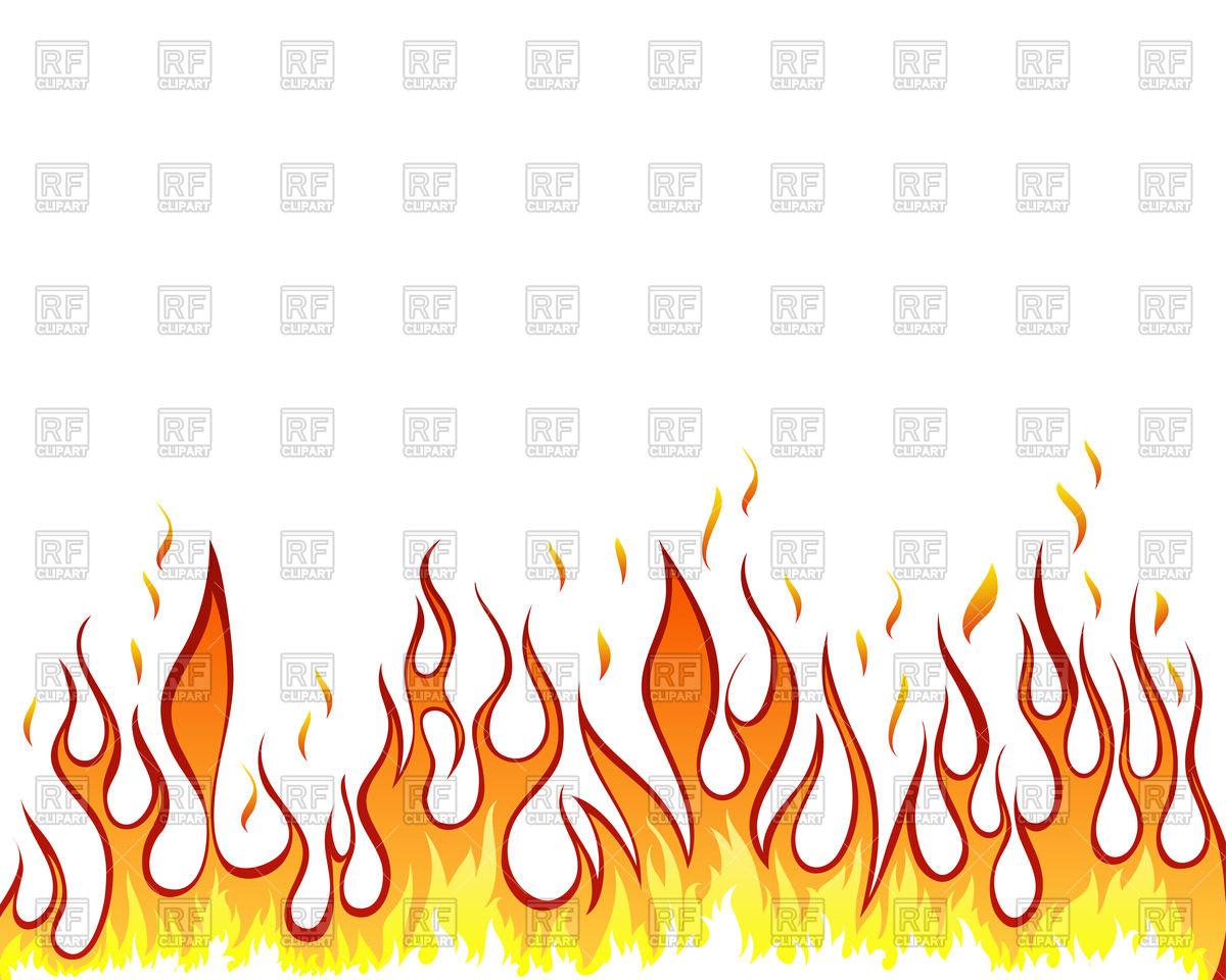 Fiery border Vector Image #89151.
