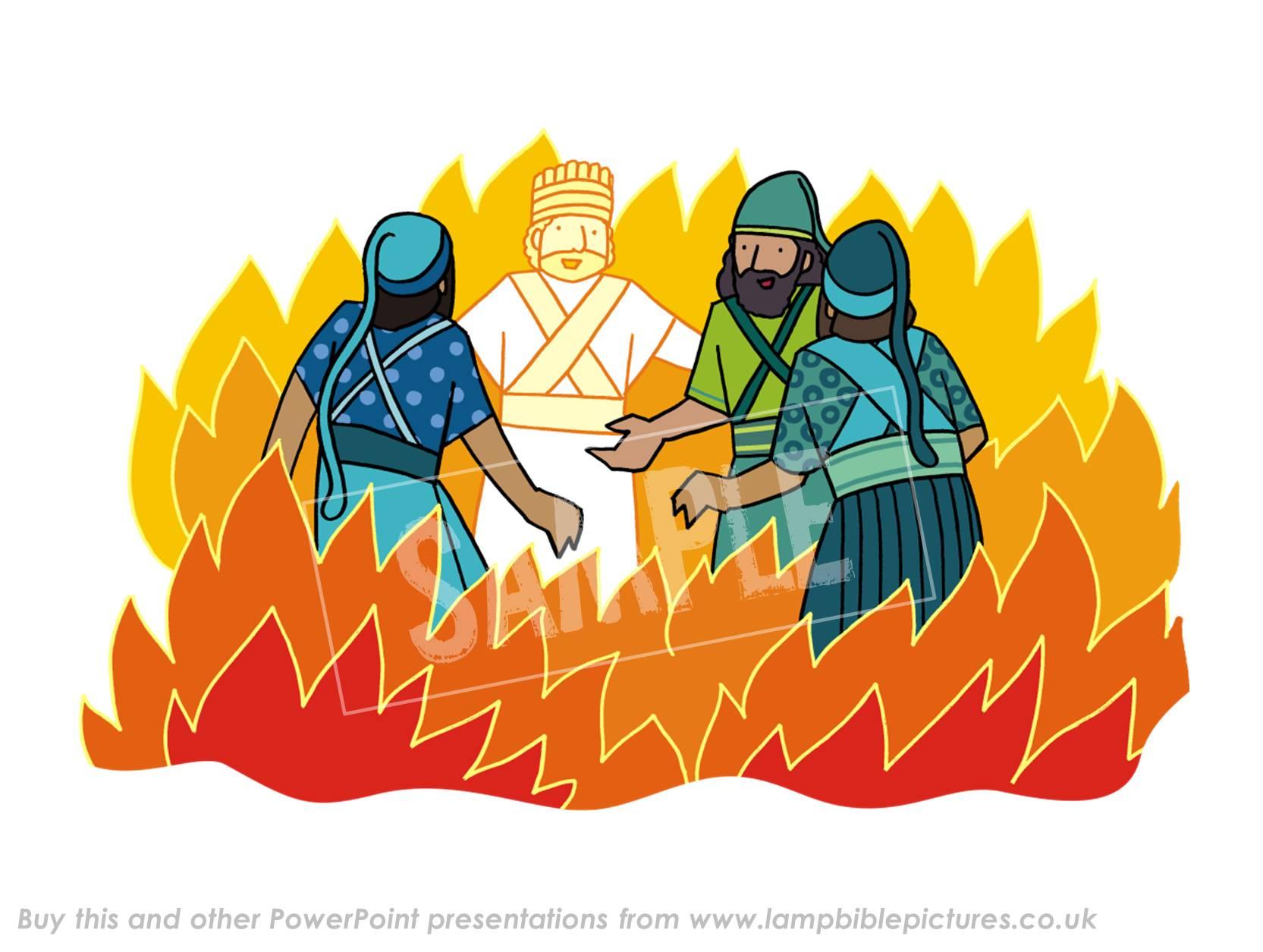 Free clipart fiery furnace.