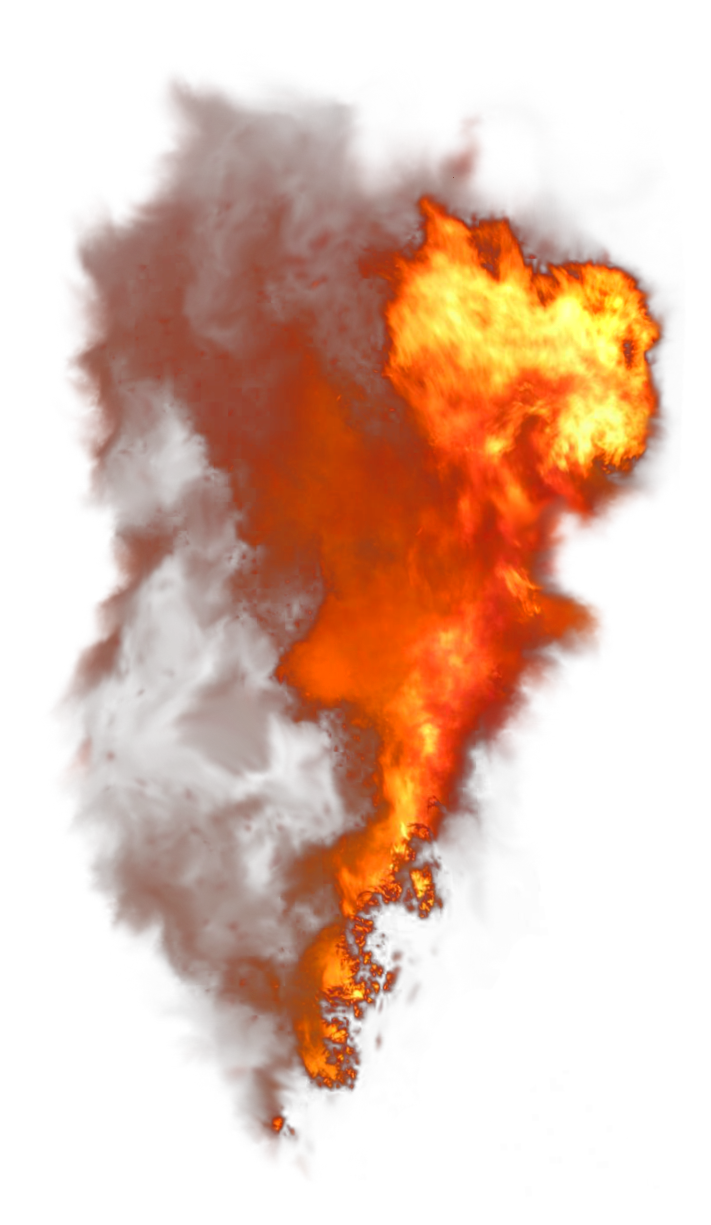Isolated Photos of fiery.